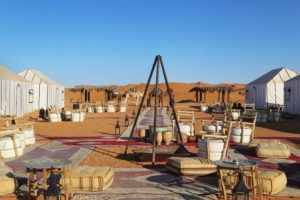 Luxury camp at Marrakech to fes tours